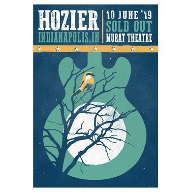 Hozier Poster-06/10/19 Indianapolis, IN