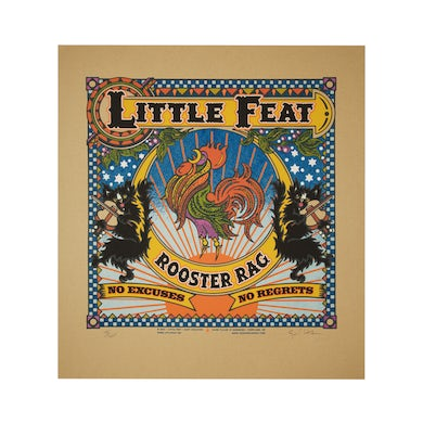 Lithograph-Rooster Rag