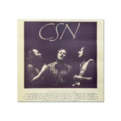 Crosby, Stills & Nash Poster-2008 Tour/Itinerary