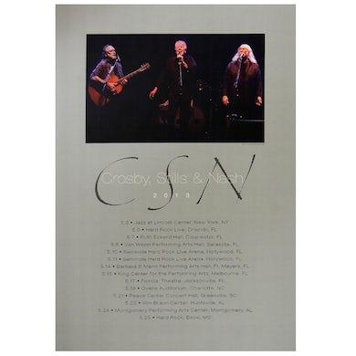 Crosby, Stills & Nash Poster-2013 May Tour