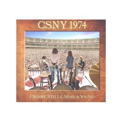 Crosby, Stills & Nash CD/DVD Blu-Ray Box Set: 1974 Tour