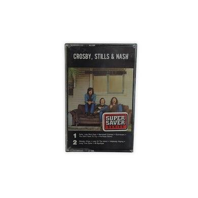 Crosby, Stills & Nash Cassette-1968-Self-Titled