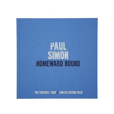 Paul Simon Limited Ed. Hardback Book-2018 Homeward Bound/Farewell Tour