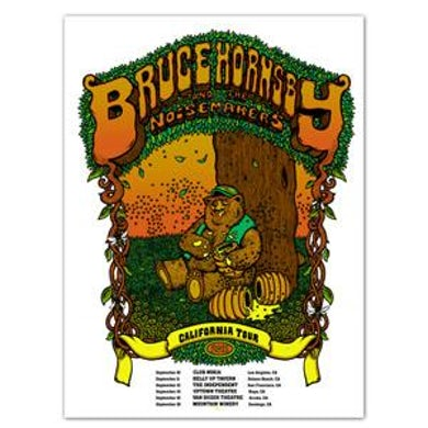 Bruce Hornsby & Noisemakers 765942 Bruce Hornsby - 2011 California Tour Poster