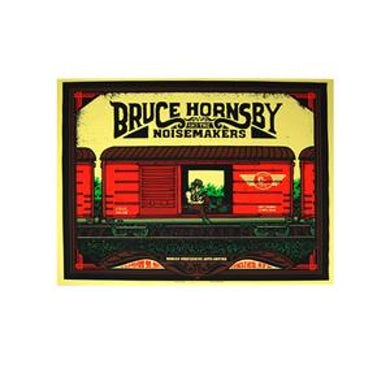 Bruce Hornsby & Noisemakers 765942 Bruce Hornsby Tour Poster - Bergen PAC  9/30/2011