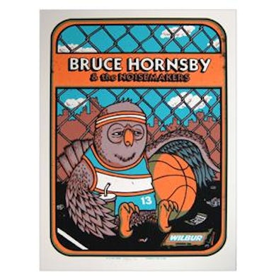Bruce Hornsby & Noisemakers 765942 Bruce Hornsby Tour Poster - Wilbur 10/2/2011