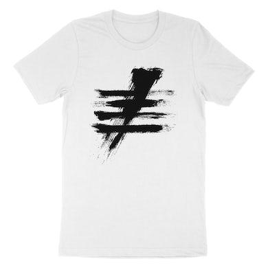 White SS-FIVE Hashtag