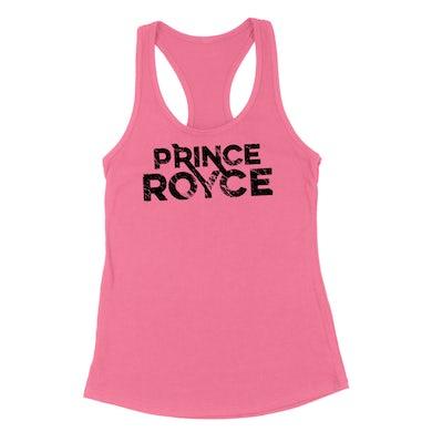 Women's Pink Tank-Prince Royce Logo