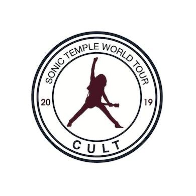 "The Cult CT Sticker-2019 Sonic Temple 5"" Round Vinyl"