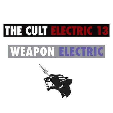 The Cult Sticker Set-Electric 13