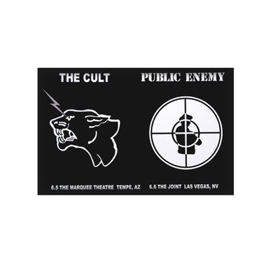 The Cult/Public Enemy Poster