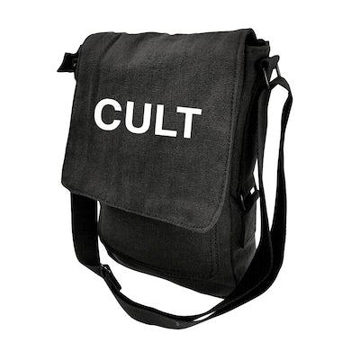 The Cult Black Canvas Military Tech Bag