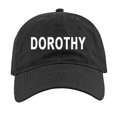 DOROTHY Black Cap-Buckle Back