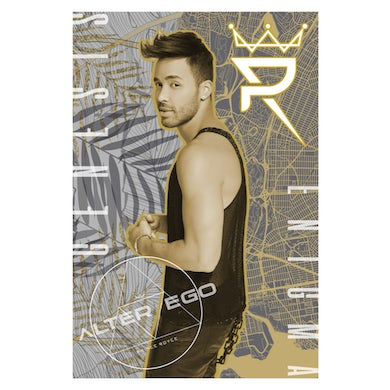Prince Royce Autographed - Alter Ego Poster
