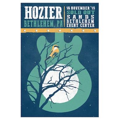 Hozier Poster-11/16/19 Bethlehem, PA
