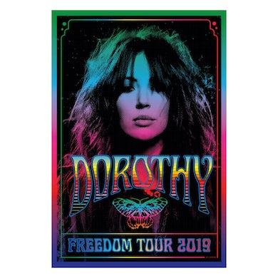 DOROTHY Digital Poster-2019 Freedom Tour