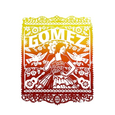 Gomez Poster: 2012 Dated Lace Lady