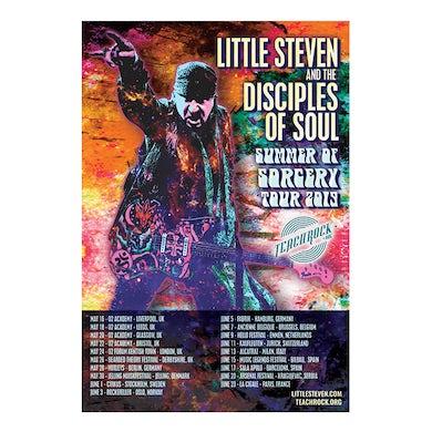 """Little Steven Poster-2019 Summer Tour-12.5"""" x 18.5"""""""