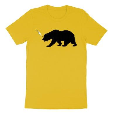 The Cult Yellow SS 84 Bear Tee