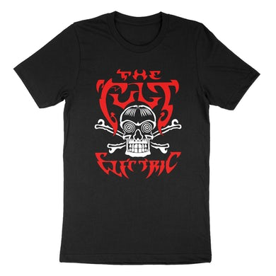 The Cult Black SS Electric Skull Tee