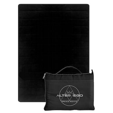 Prince Royce Black Travel Blanket - Alter Ego