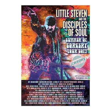 """Little Steven Poster-2019 Fall Tour 12.5"""" x 18.5"""""""