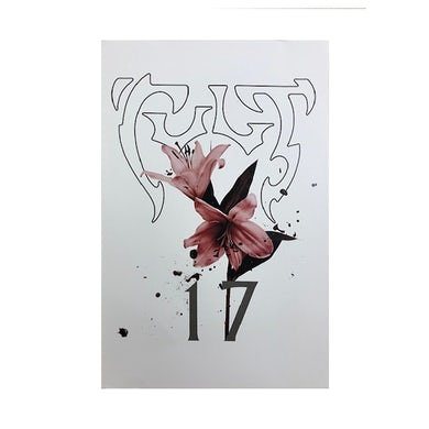 The Cult 2017 Tour Lilies VIP Poster