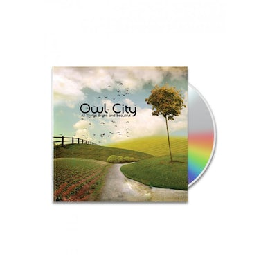 Owl City All Things Bright and Beautiful CD