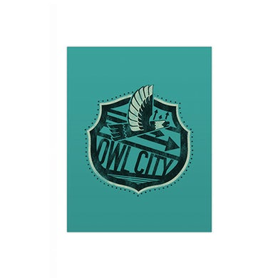 Owl City Big Wing Pocket Folder (Teal)