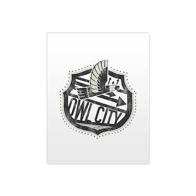 Owl City Big Wing Pocket Folder (White)