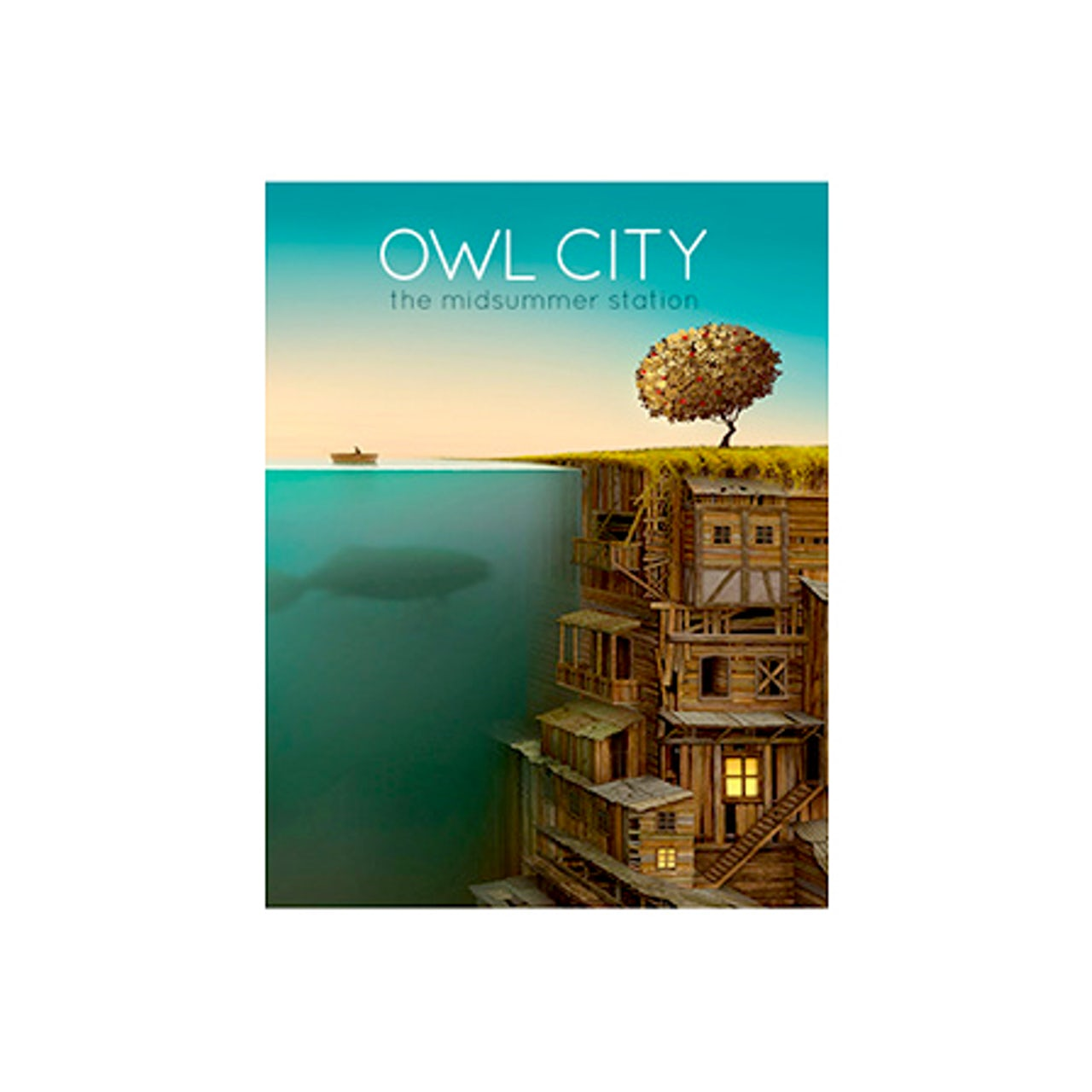 Owl City The Midsummer Station Pocket Folder