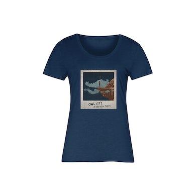 Owl City Cliff Polaroid Tee