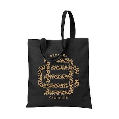 Cheetah Monogram Tote Bag