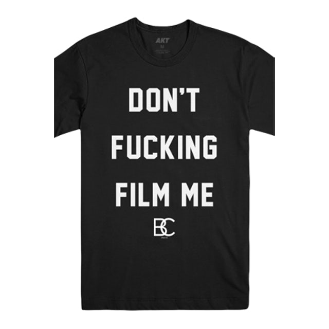 Breathe Carolina Don't Film Me Tee (Black)