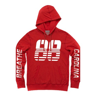 Breathe Carolina 88 Pullover Hoodie (Red)