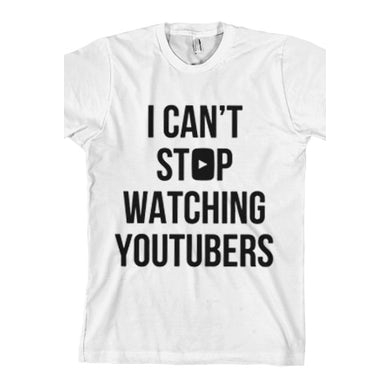 Tyler Oakley Can't Stop Tee (Black Print on White)