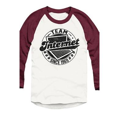 Tyler Oakley #TeamInternet Raglan (Truffle)