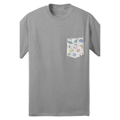 Tyler Oakley Iconic Pocket Tee (Gray)