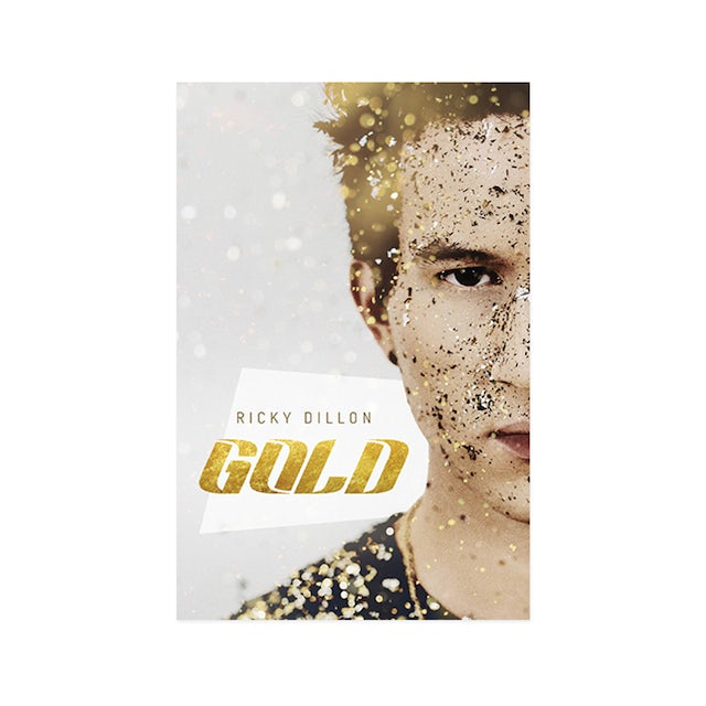 Ricky Dillon GOLD 11x17 Poster