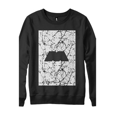 The M Machine Marble M Box Crewneck Sweatshirt (Black)