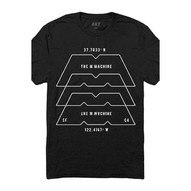 The M Machine Localize Tee (Black)