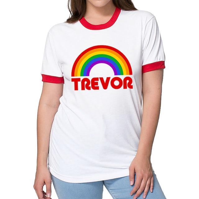 Trevor Moran Rainbow Retro Unisex Tee