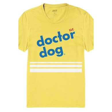 Dr. Dog Lines Tee (Yellow)