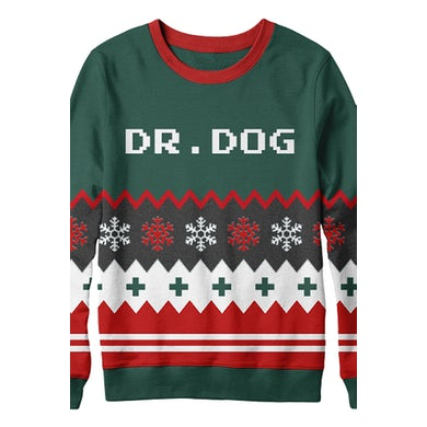 Dr. Dog Knitted Winter Sweater