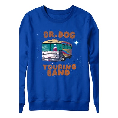 Dr. Dog Space Bus Crewneck (Blue)