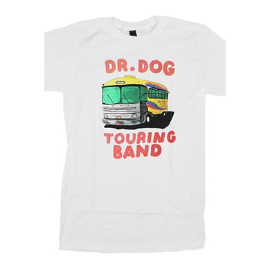 Dr. Dog Touring Bus Tee (White)