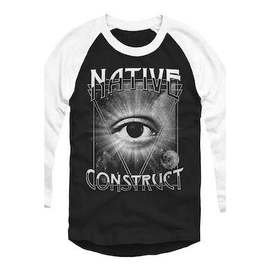 Native Construct Vision Baseball Raglan
