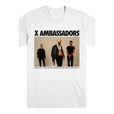 X Ambassadors MSG Limited Ed. Tee (White)