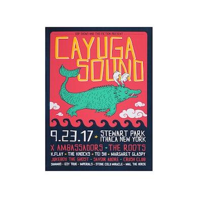 X Ambassadors Cayuga Sound Poster