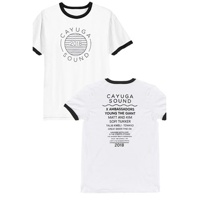 X Ambassadors Cayuga Sound Tee 2018 (White)